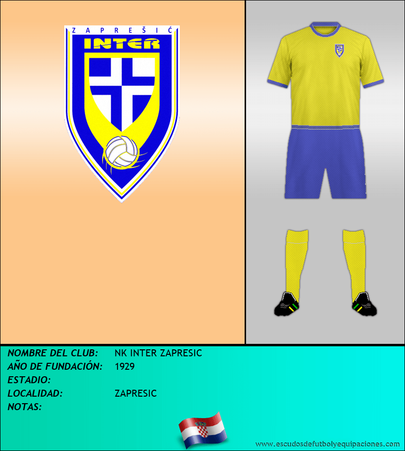 Escudo de NK INTER ZAPRESIC