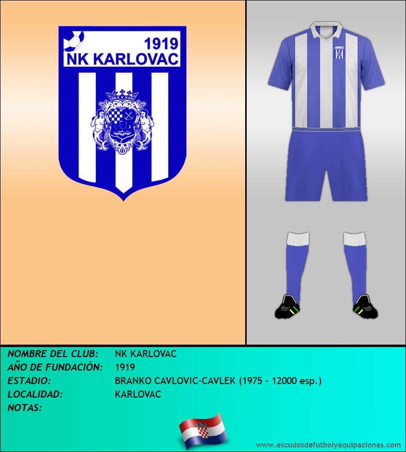 Escudo de NK KARLOVAC