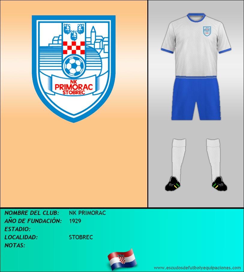 Escudo de NK PRIMORAC