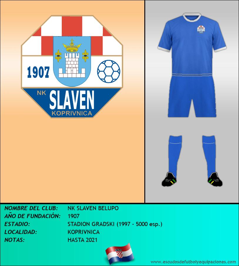 Escudo de NK SLAVEN BELUPO