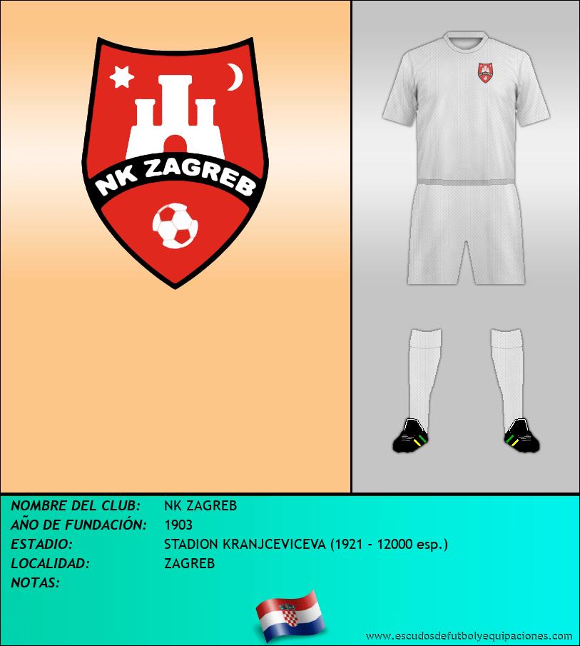 Escudo de NK ZAGREB