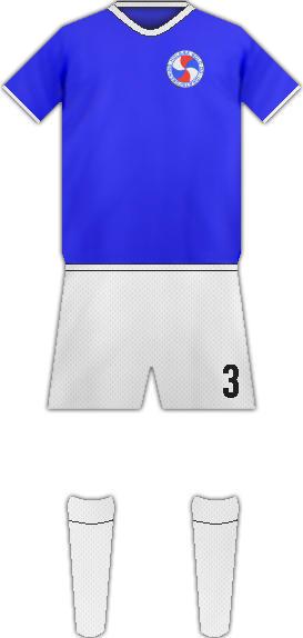 Equipación HOLBAEK FC