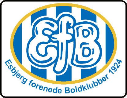 Escudo de ESBJERG FK (DINAMARCA)