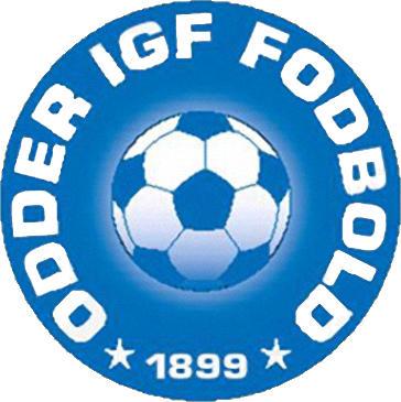 Escudo de ODDER IGF FODBLOD (DINAMARCA)