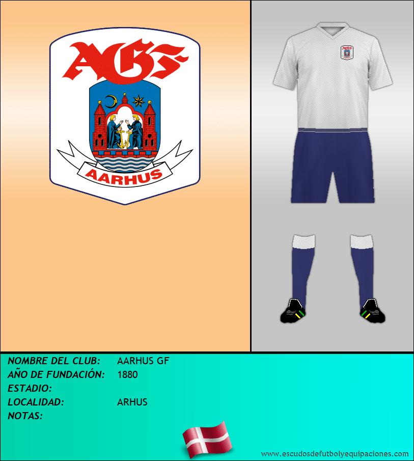 Escudo de AARHUS GF