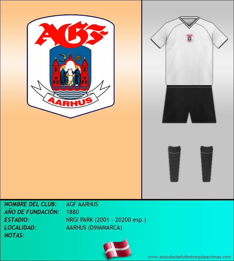 Escudo de AGF AARHUS