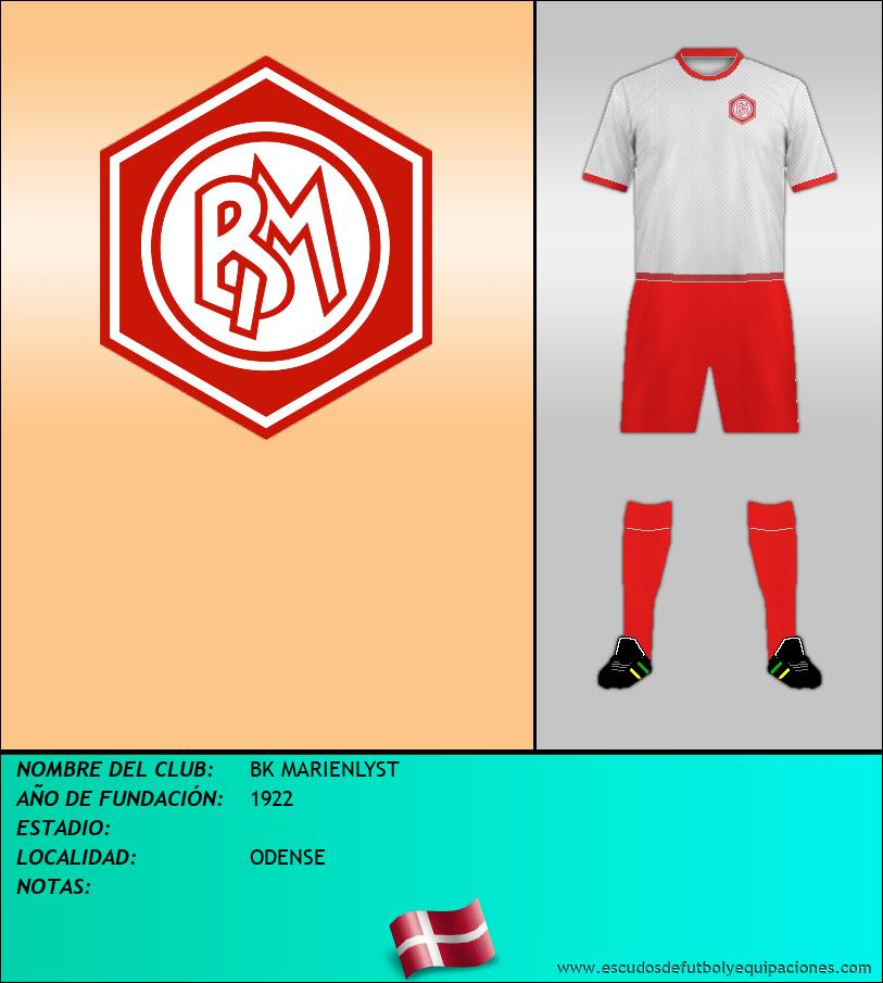 Escudo de BK MARIENLYST