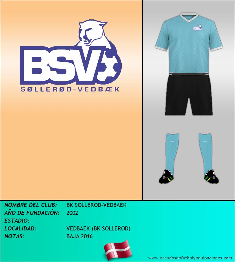 Escudo de BK SOLLEROD-VEDBAEK