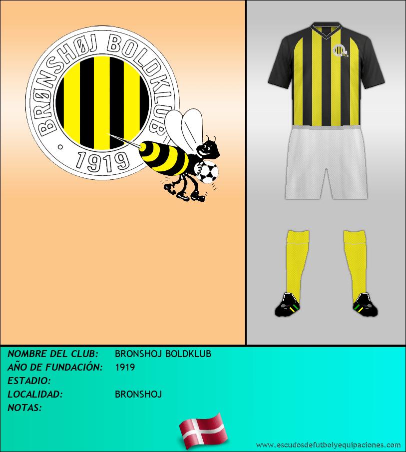 Escudo de BRONSHOJ BOLDKLUB