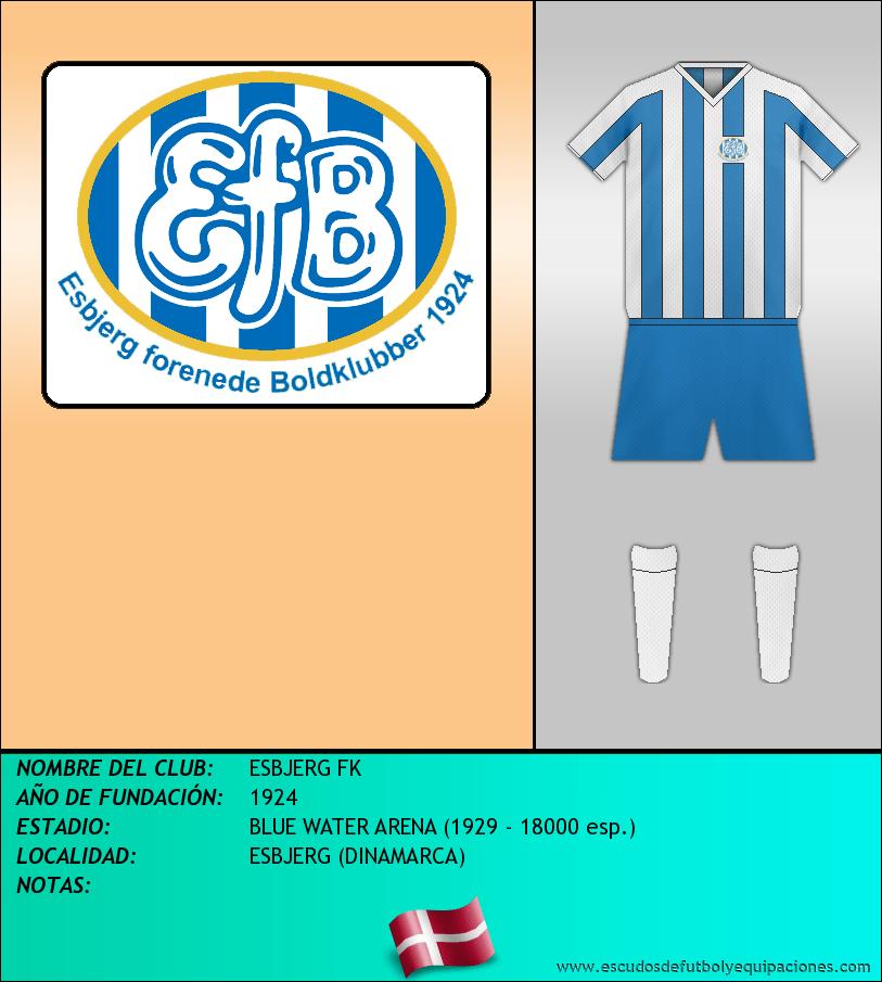 Escudo de ESBJERG FK