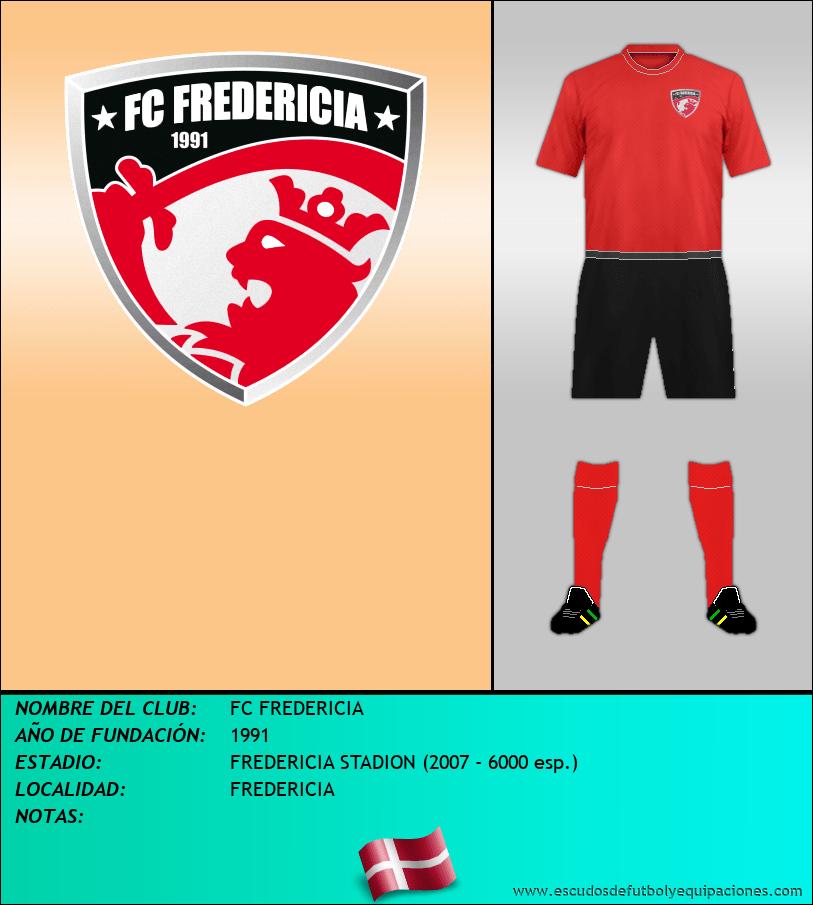 Escudo de FC FREDERICIA