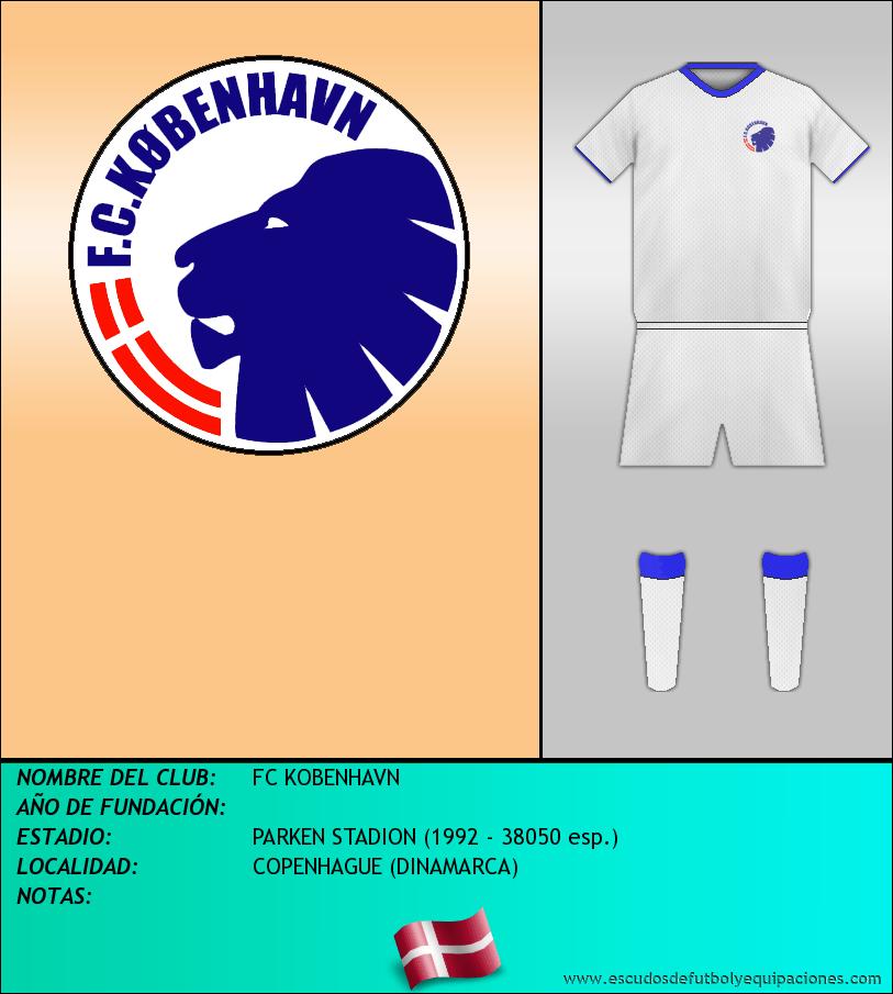 Escudo de FC KOBENHAVN
