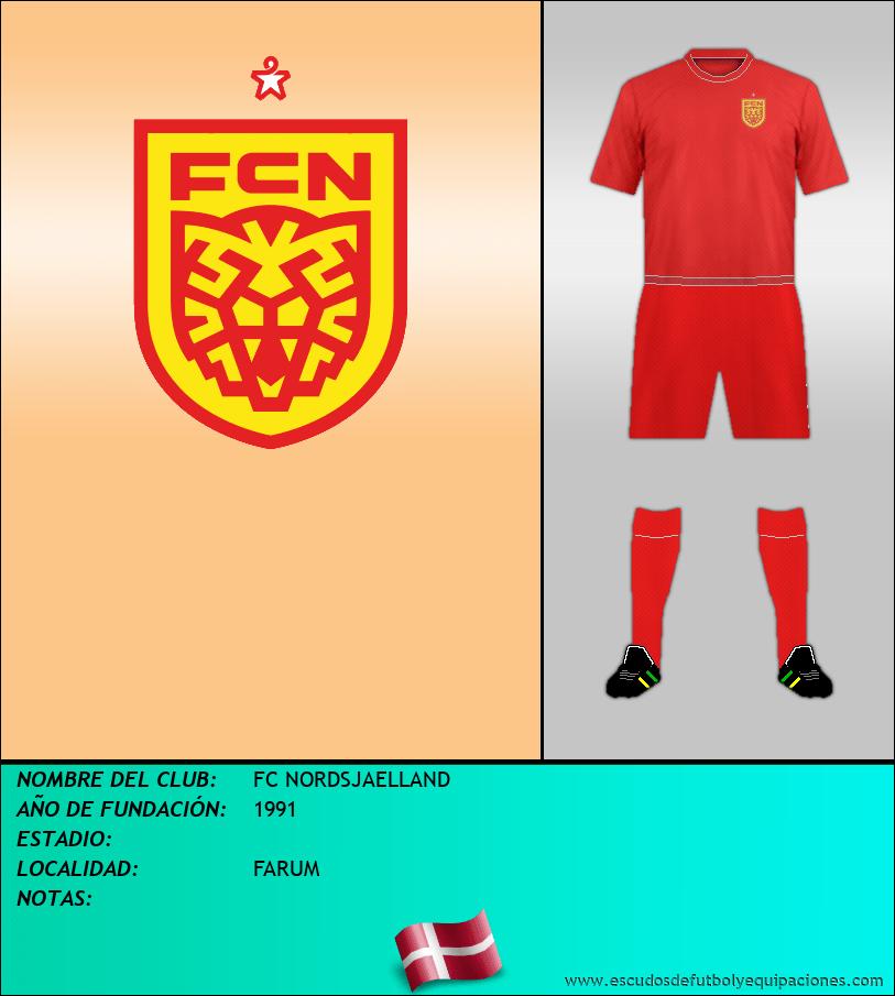 Escudo de FC NORDSJAELLAND