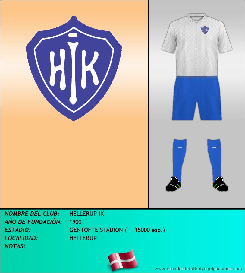 Escudo de HELLERUP IK