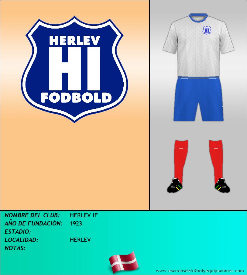 Escudo de HERLEV IF
