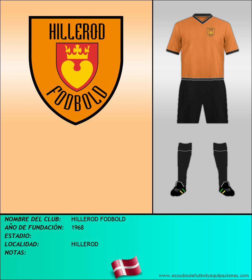 Escudo de HILLEROD FODBOLD