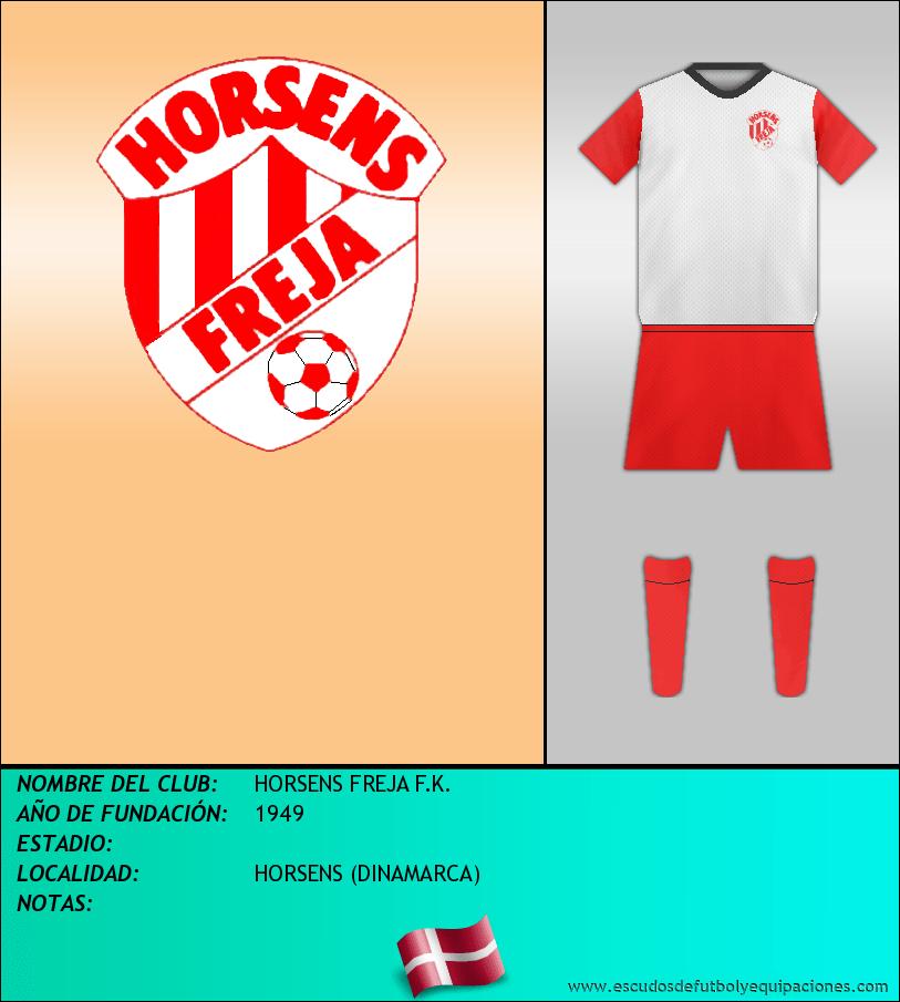 Escudo de HORSENS FREJA F.K.