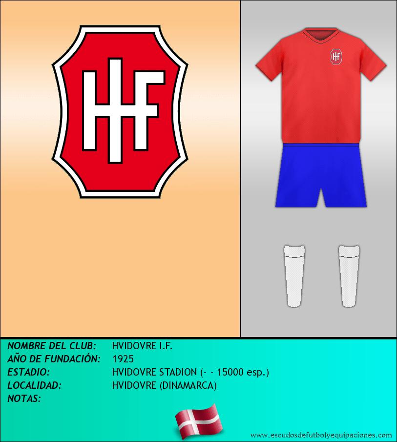 Escudo de HVIDOVRE I.F.