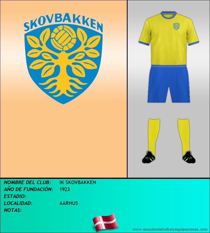 Escudo de IK SKOVBAKKEN