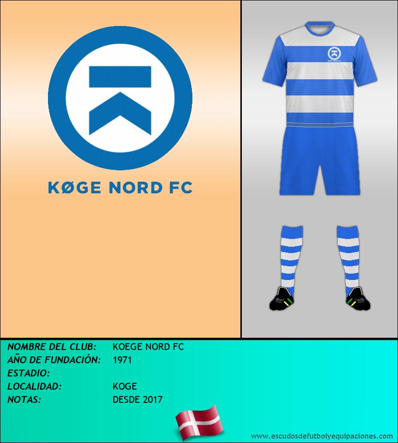 Escudo de KOEGE NORD FC