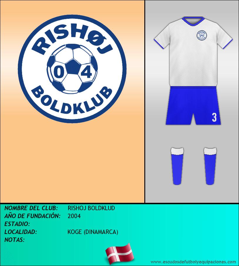 Escudo de RISHOJ BOLDKLUD