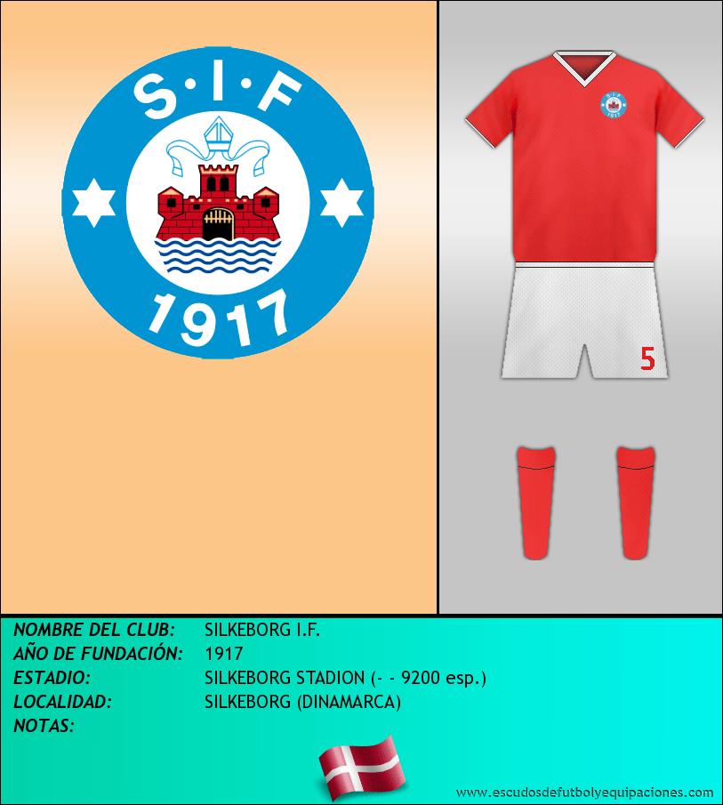 Escudo de SILKEBORG I.F.