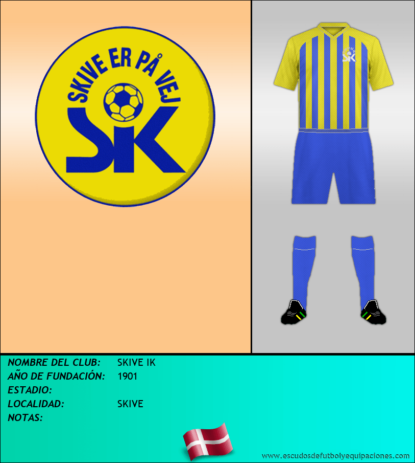 Escudo de SKIVE IK