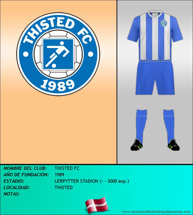 Escudo de THISTED FC