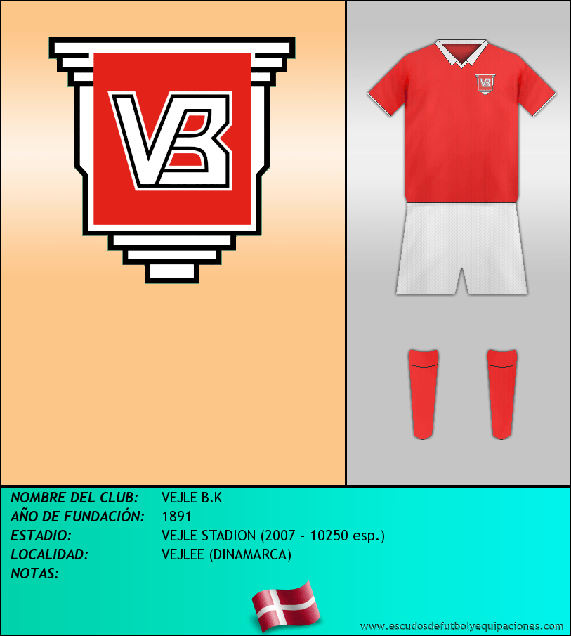 Escudo de VEJLE B.K