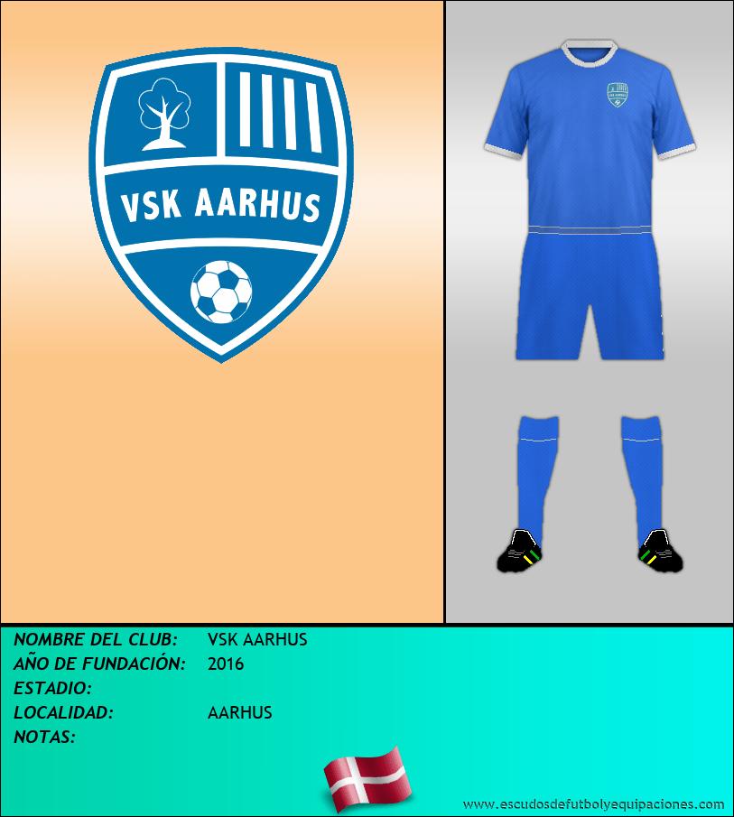 Escudo de VSK AARHUS