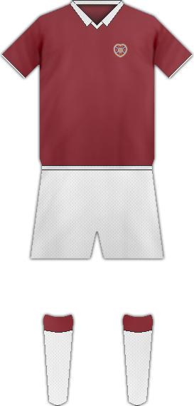 Equipación HEARTS FC