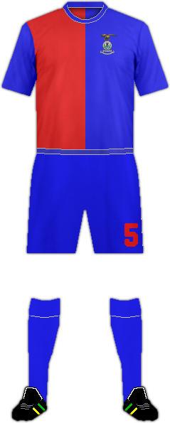 Equipación INVERNESS CALEDONIAN F.C.