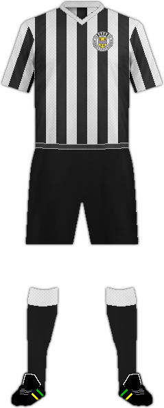 Equipación ST. MIRREN FC