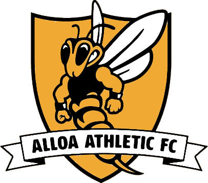 Escudo de ALLOA ATHLETIC F.C. (ESCOCIA)