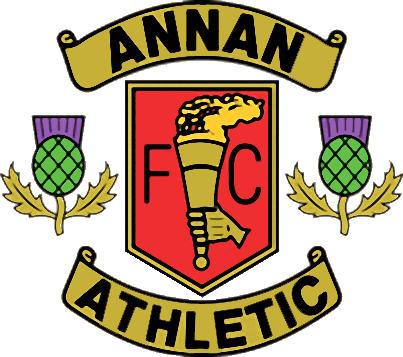 Escudo de ANNAN ATHLETIC F.C. (ESCOCIA)