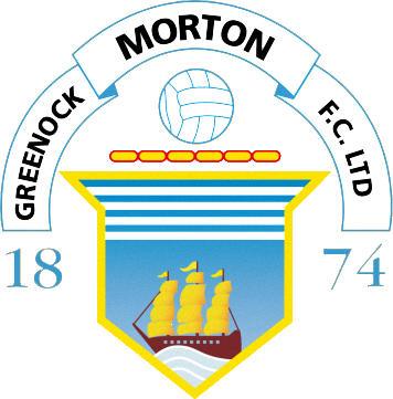 Escudo de GREENOCK MORTON F.C. (ESCOCIA)