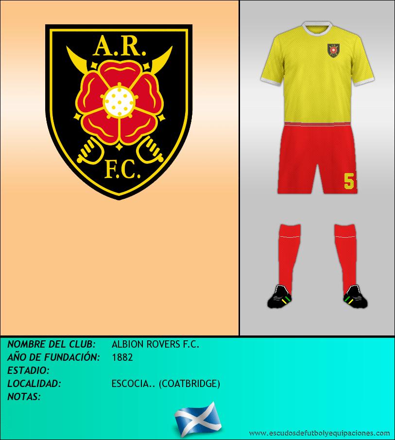 Escudo de ALBION ROVERS F.C.