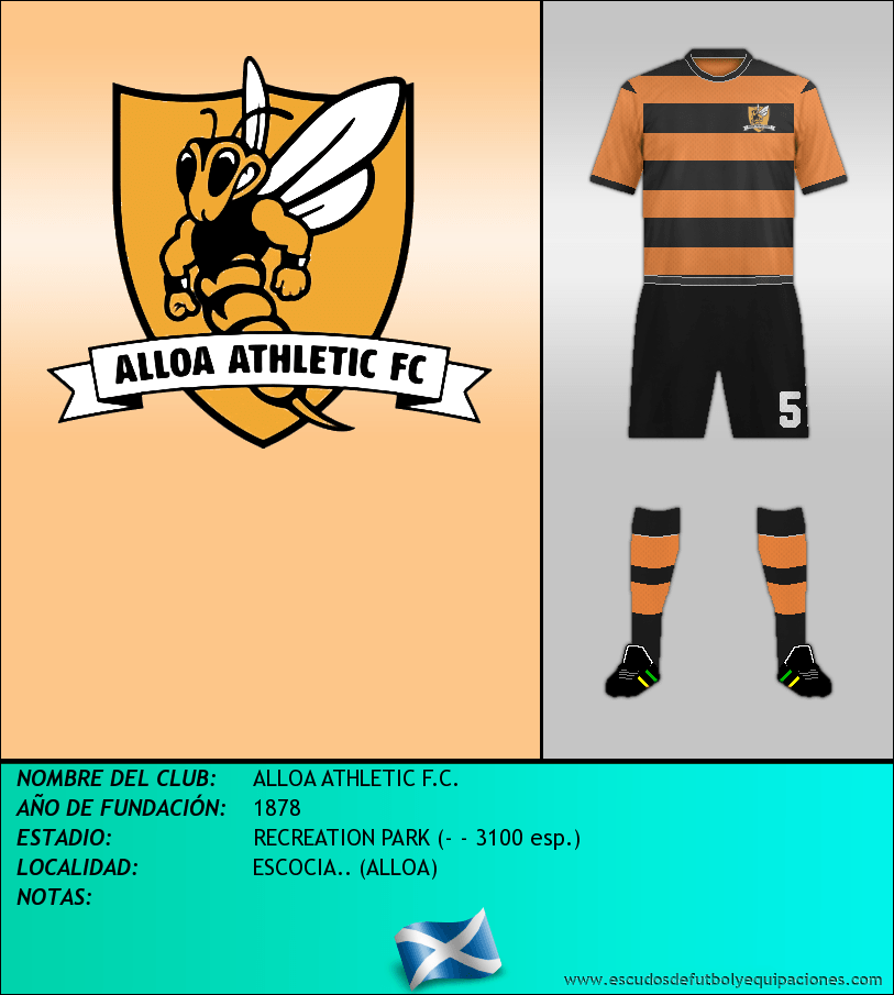 Escudo de ALLOA ATHLETIC F.C.