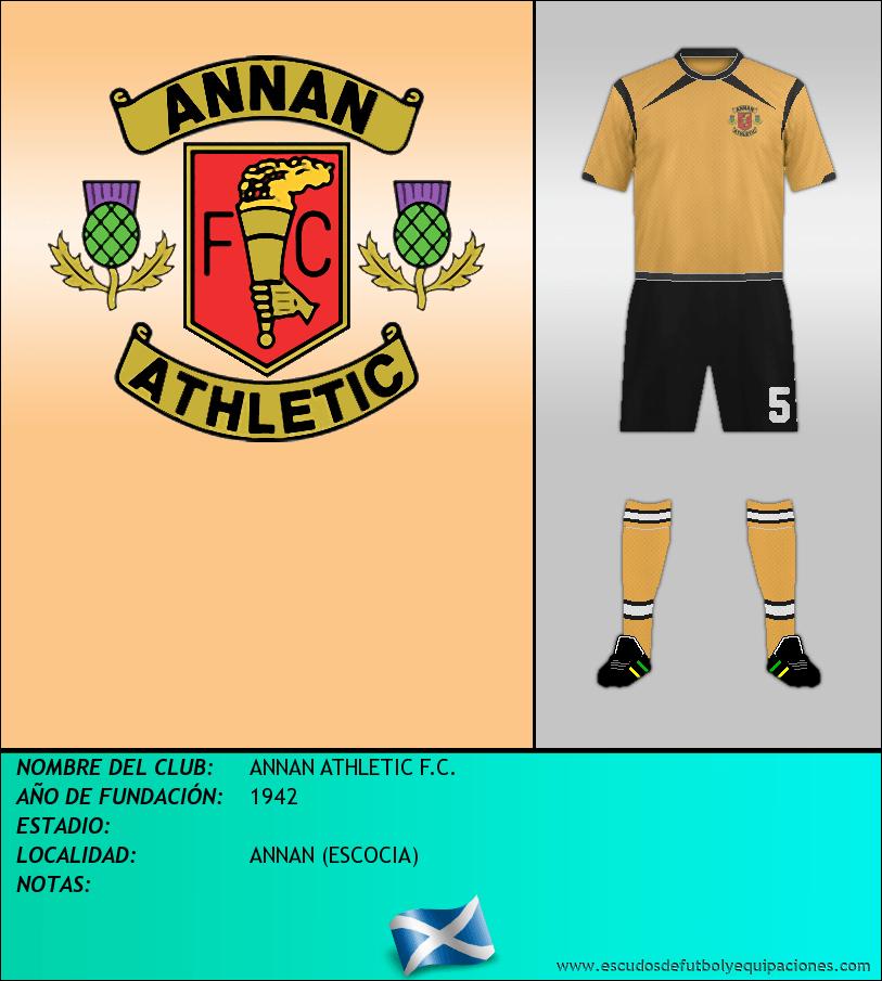 Escudo de ANNAN ATHLETIC F.C.