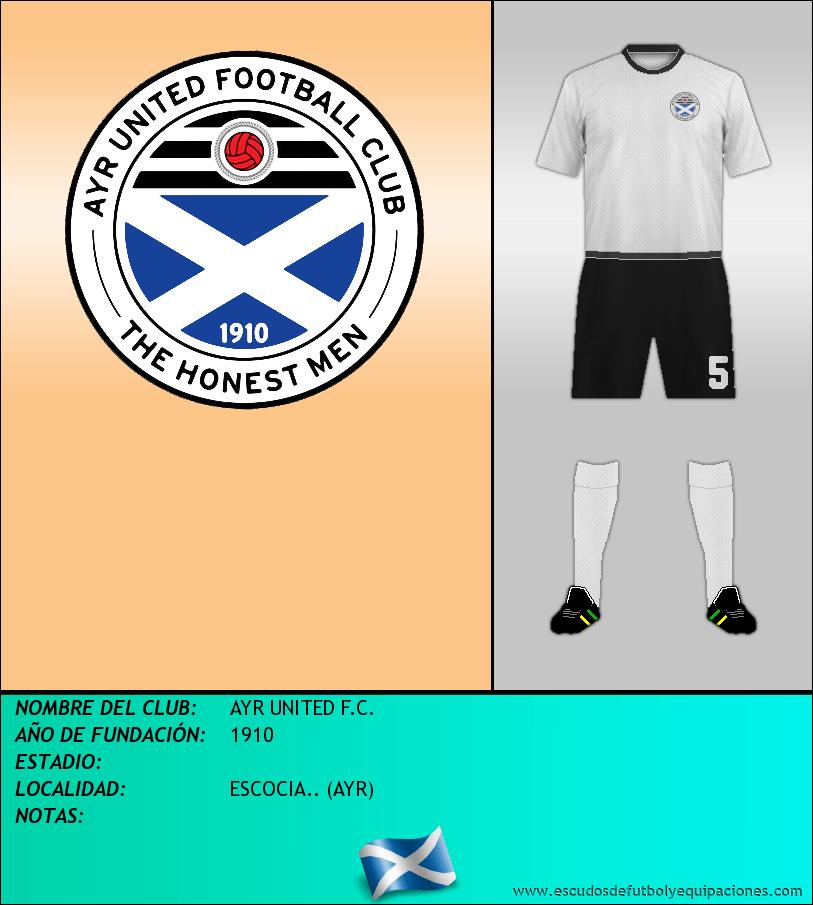 Escudo de AYR UNITED F.C.