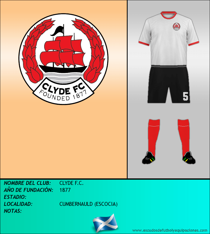 Escudo de CLYDE F.C.