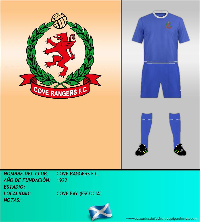 Escudo de COVE RANGERS F.C.