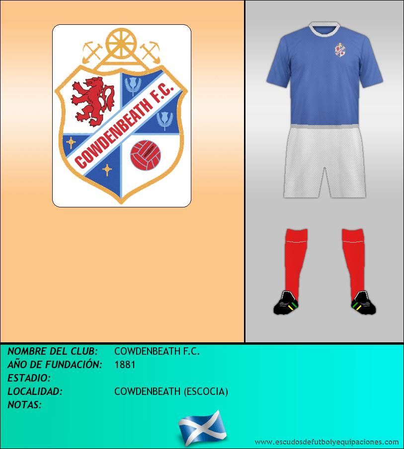 Escudo de COWDENBEATH F.C.