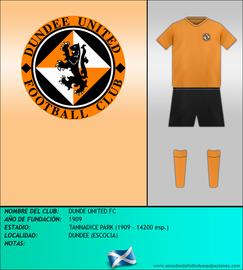 Escudo de DUNDE UNITED FC