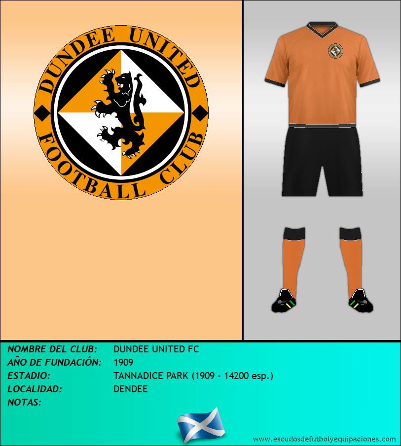 Escudo de DUNDEE UNITED FC