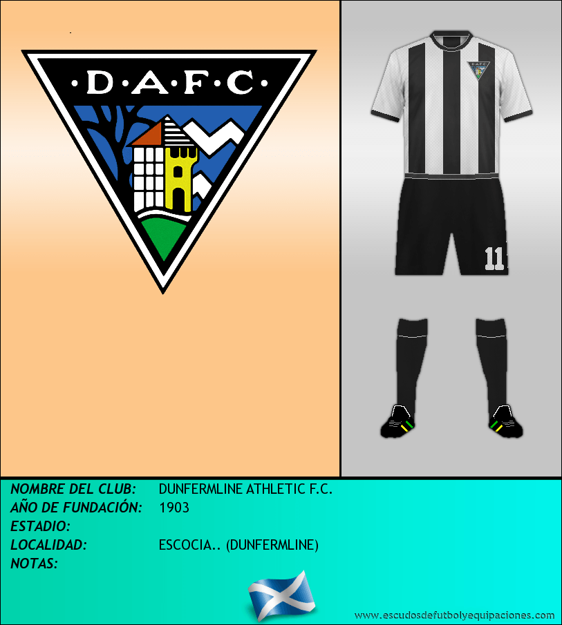 Escudo de DUNFERMLINE ATHLETIC F.C.