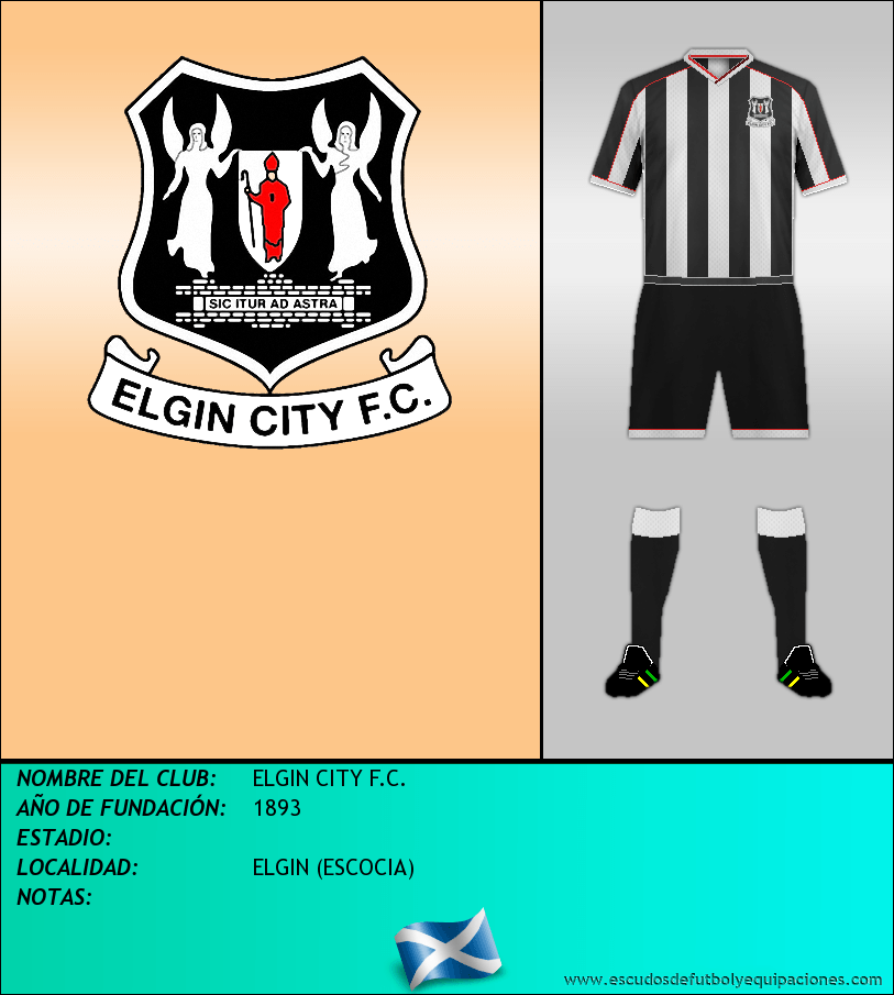 Escudo de ELGIN CITY F.C.