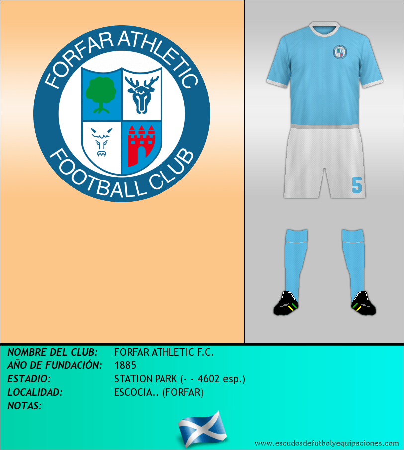 Escudo de FORFAR ATHLETIC F.C.