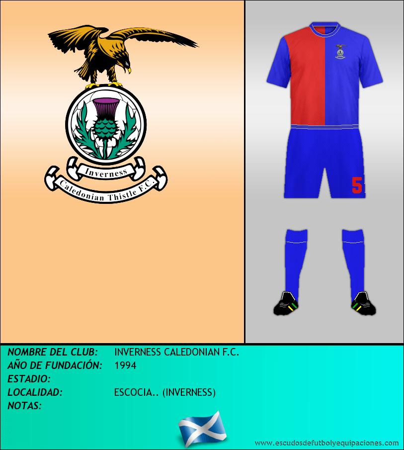 Escudo de INVERNESS CALEDONIAN F.C.
