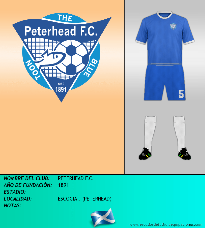 Escudo de PETERHEAD F.C.